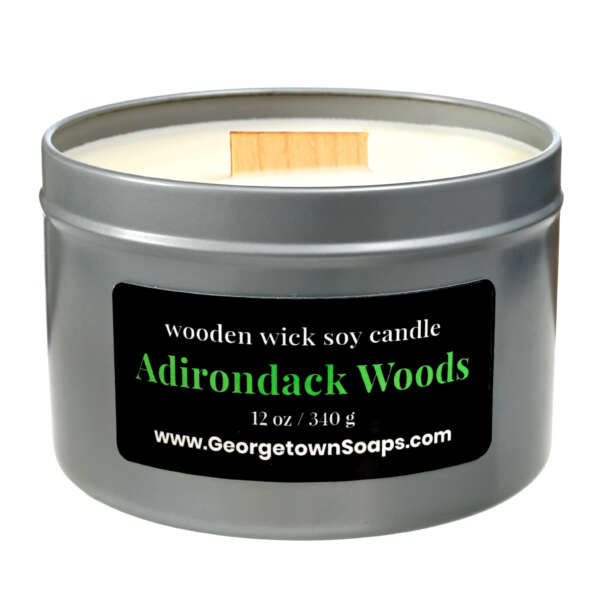 adirondack woods wooden wick soy candle