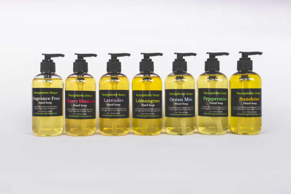 liquid soap collection
