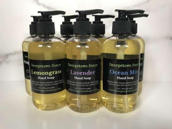 liquid soap group hand soap