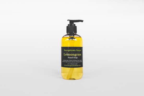 liquid soap lemongrass