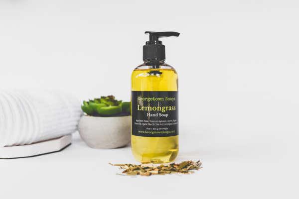 liquid soap lemongrass2