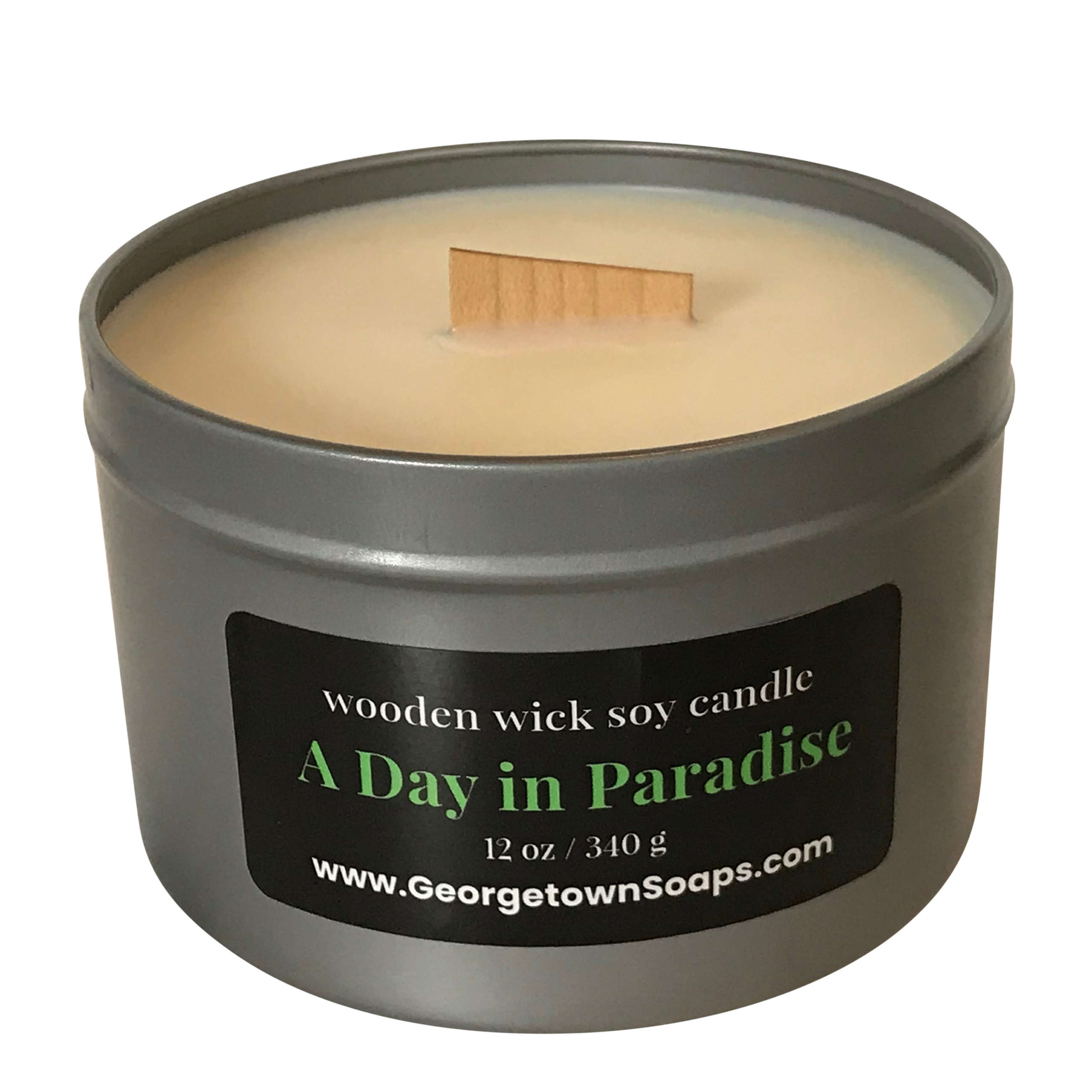 A day in paradise soy candle