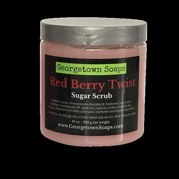 Red Berry Twist Sugar Scrub