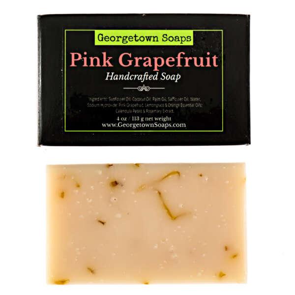 Pine Grapefruit Handmade Soap