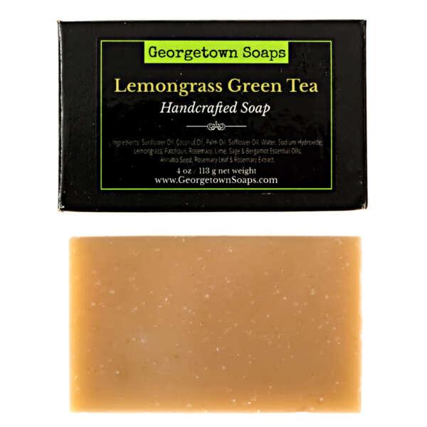Lemongrass Green Tea Handcrafted Soap