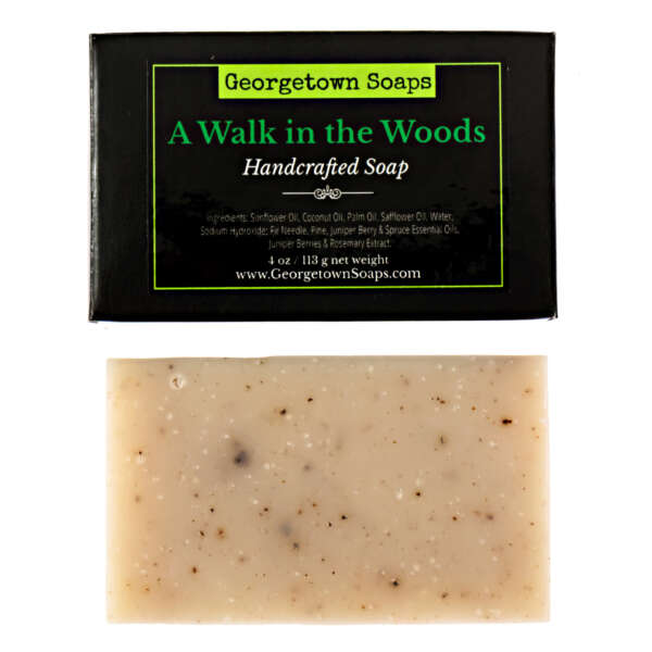 Handmade Soap A Walk in the Woods