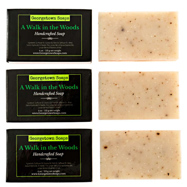 A Walk in the woods Handmade Soap