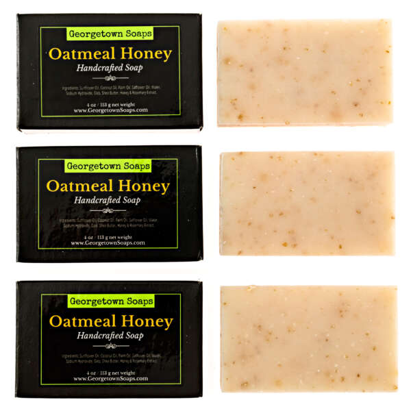 Oatmeal Honey Handcrafted Soap