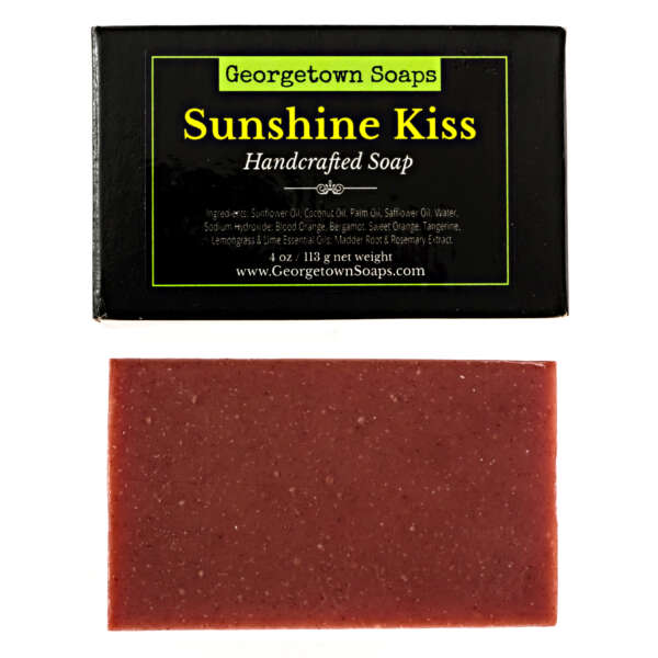 Sunshine Kiss Handmade Soap