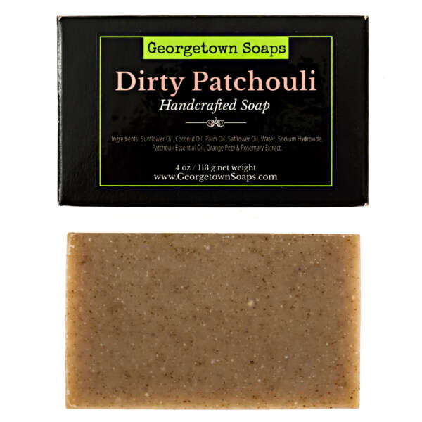 Dirty Patchouli Handmade Soap
