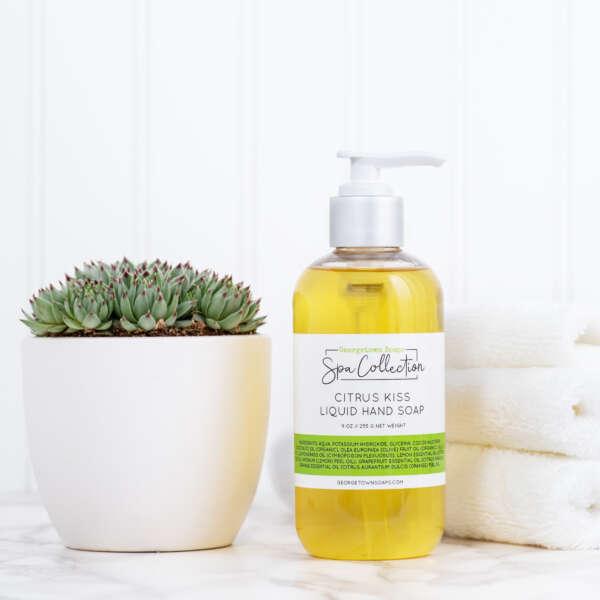 organic liquid hand soap